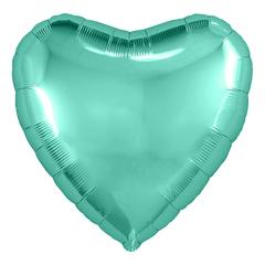 Аг 9''/23см, Мини-сердце, Бискайский зеленый, / 5 шт. /