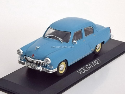 GAZ-M21 Volga light blue 1:43 DeAgostini Masini de legenda #4