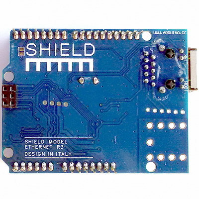 Плата расширения Arduino UNO Ethernet Shield W5100 R3