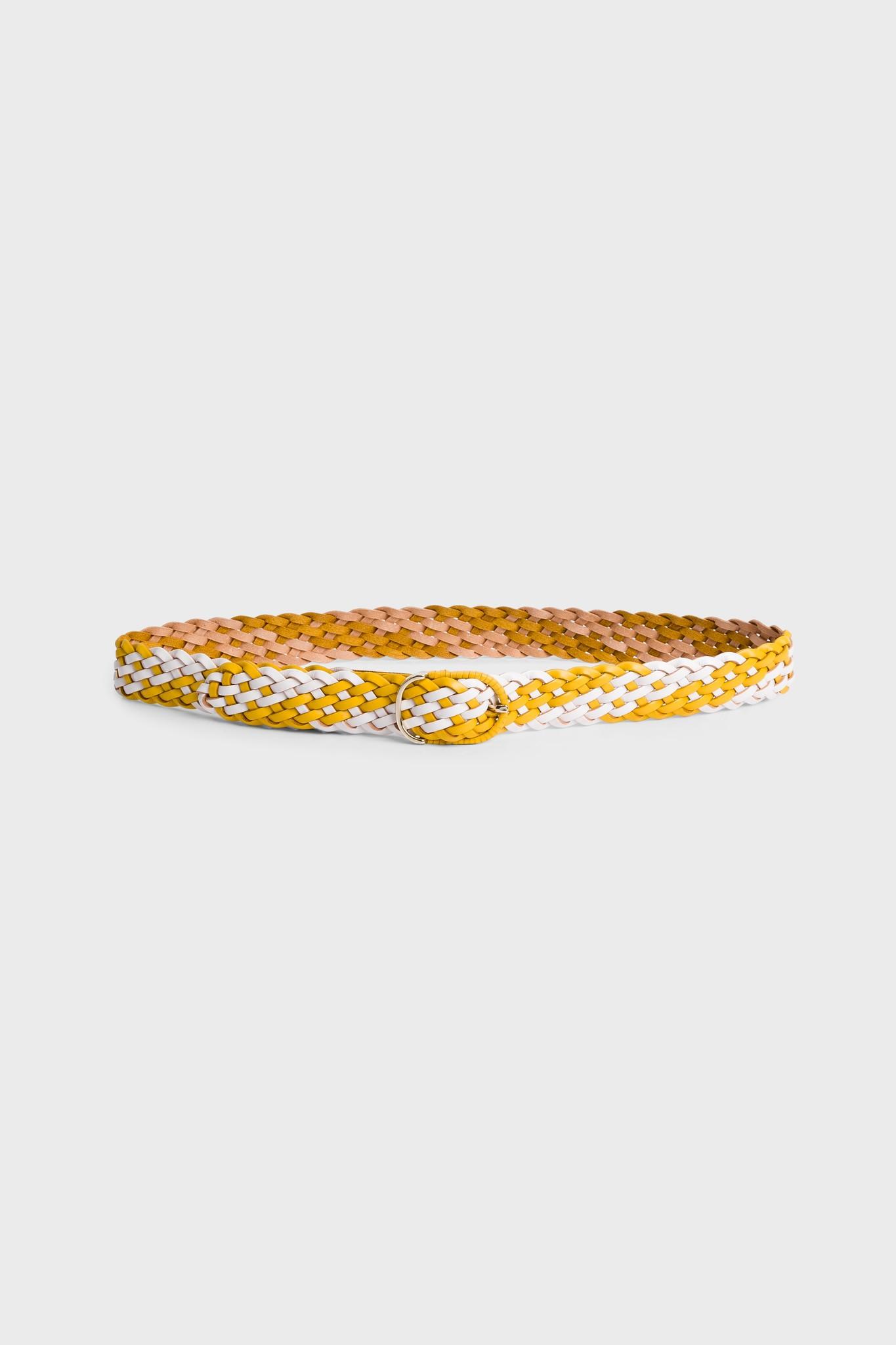 MADRAS - Плетенный кожаный ремень