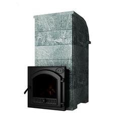 Печь Князь Калита (Дверка - стальная окрашенная, облицовка - талькохлорит)