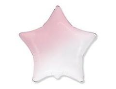 F Звезда Градиент розовый, 32