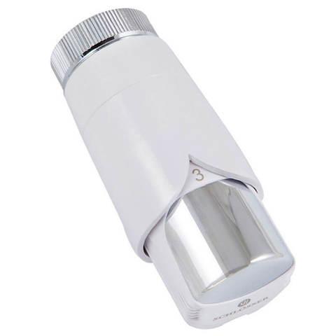Термостатическая головка Dr Diamant Plus Белый-Хром