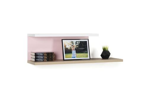 Полка LX 51 розовый-принт