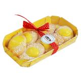 Печенье Casa Rinaldi Лимони с лимонным кремом 200 г