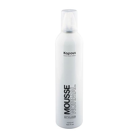 Kapous Professional Мусс для укладки волос нормальной фиксации «Mousse Normal», 400 мл