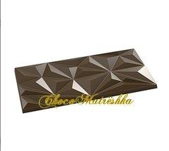 Форма поликарбонатная для шоколада - Плитка Алмазные кристаллы