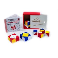 Сложи узор, деревянная коробка, Игры Никитиных, арт. 001