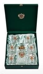 Хрустальный набор для виски со штофом «Президент», фото 4