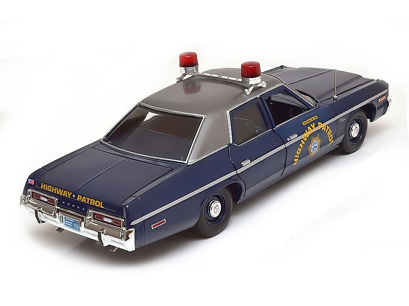 Коллекционная модель Dodge Monaco Nevada Highway Patrol 1975 Police