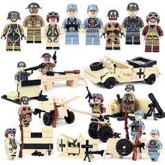 Минифигурки Военных Немецкая Армия серия 321