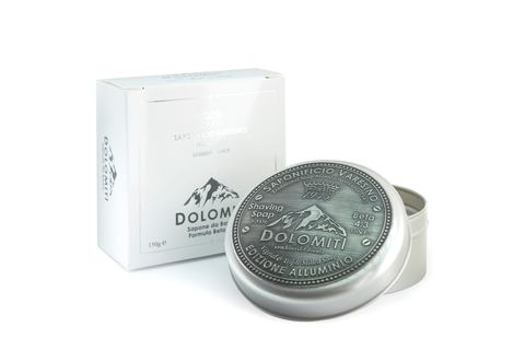 Мыло для бритья Saponificio varesino Dolomiti 150 гр в банке