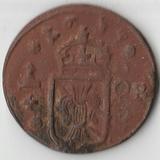 1637 P2749 Швеция 1/4 эре