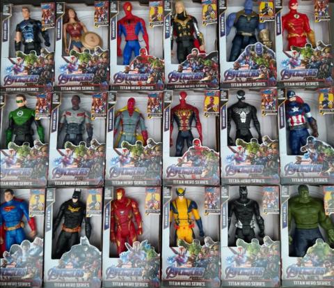 Огромный набор супер-героев Марвел(18 штук)