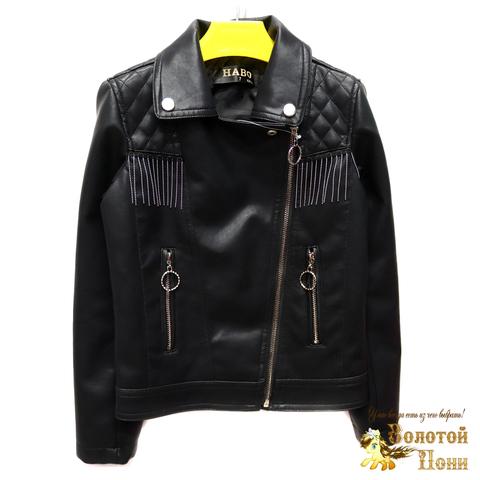 Куртка экокожа девочке (6-11) 200305-T1906.1