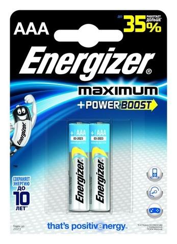 Батарейка щелочная Energizer LR03 (AAA) Maximum 1
