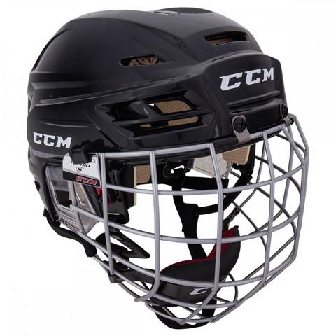 Шлем с маской CCM TACKS 110 XS черный