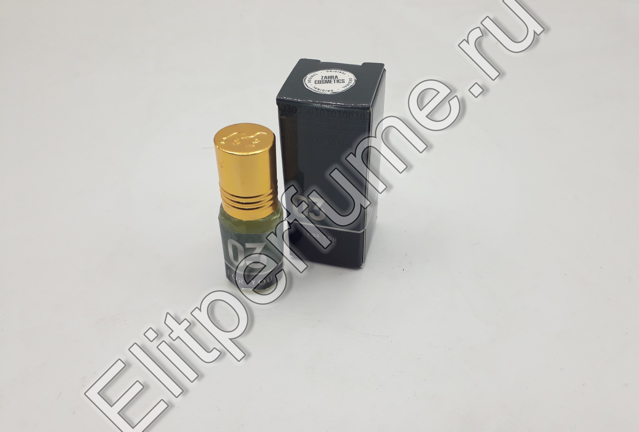 For You 03 3 мл арабские масляные духи от Захра Zahra Perfumes