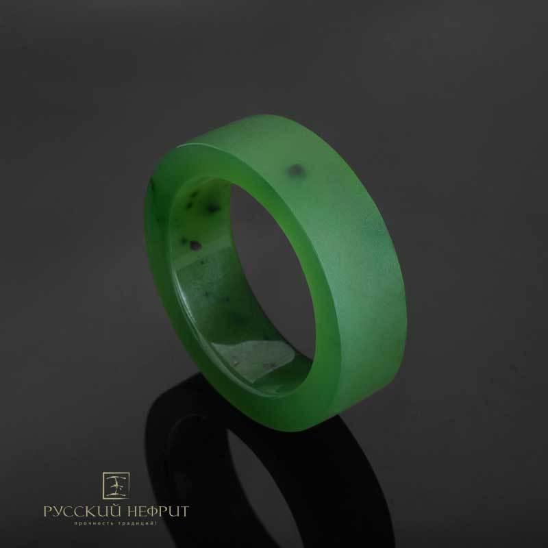 Кольца Кольцо из цельного зеленого нефрита. Прямое Кольцо-прямое-зел-2__1_.jpg