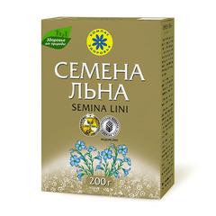Семена льна, Компас Здоровья, коробка, 200 г