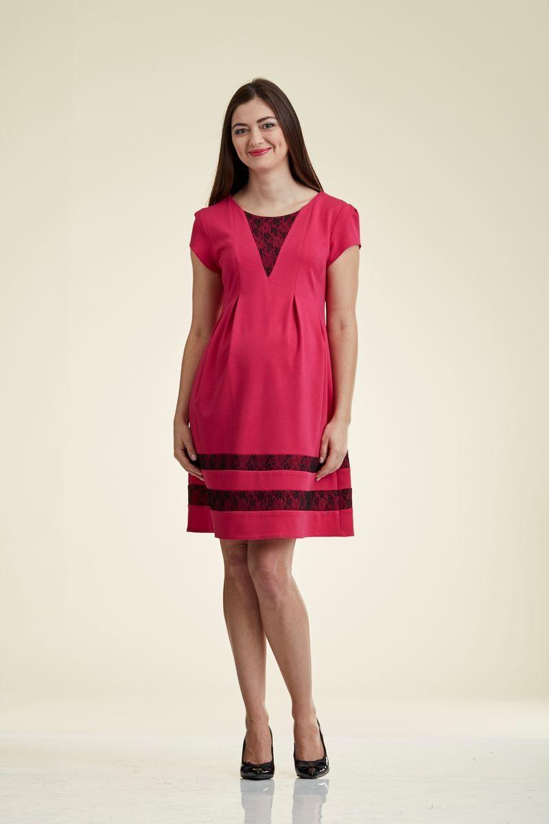 Платье для беременных 06174 розовый