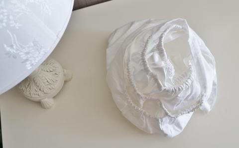 Простынь на резинке 120*60см, белая