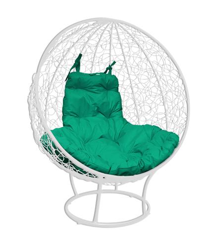 Кресло стоячее Milagro white/green