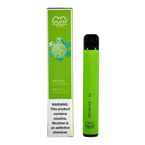 Одноразовая электронная сигарета Puff PLUS Melon Ice (Дыня Лёд)