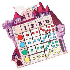 Логическая таблица Замок, Smile Decor П836