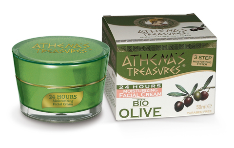 Увлажняющий крем для лица 24 часа ATHENA'S TREASURES 50 мл
