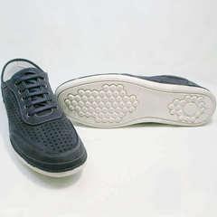 Кроссовки сникерсы мужские Vitto Men Shoes 3560 Navy Blue.