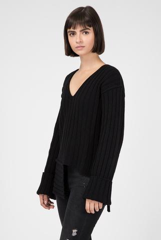 Женский черный пуловер Diesel