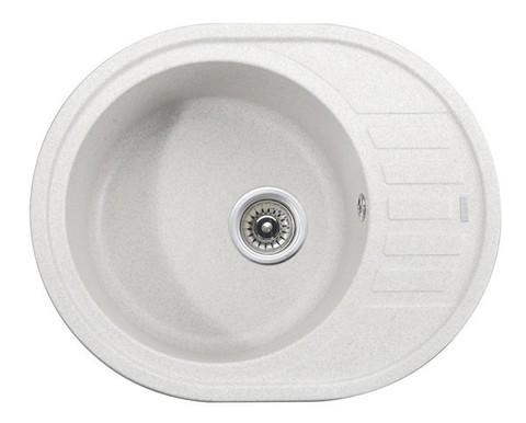 Кухонная гранитная мойка Kaiser KGMO-6250-W белый