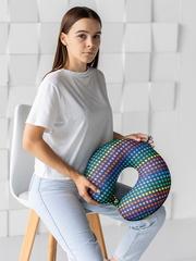 Подушка для шеи, подголовник Gekoko «Звездный», разноцветная 4