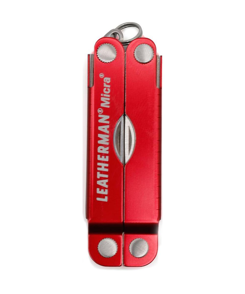 Мультитул Leatherman Micra, 10 функций, красный