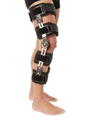 Ортез (брейс) Variteks на коленный сустав с ребрами жесткости и регулятором угла сгибания