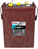 Тяговый аккумулятор Trojan L16RE-A ( 6V 325Ah / 6В 325Ач ) - фотография