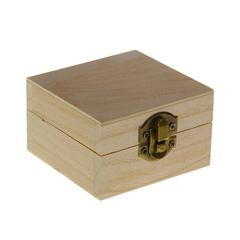 Шкатулка квадратная, 8,5*8,5*5 см, 1 шт.