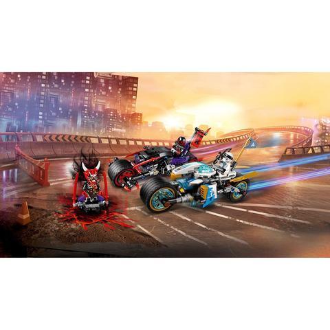 LEGO Ninjago: Уличная погоня 70639 — Street Race of Snake Jaguar — Лего Ниндзяго