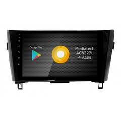 Штатная магнитола на Android 8.1 для Nissan Qashqai 2 Roximo S10 RS-1202
