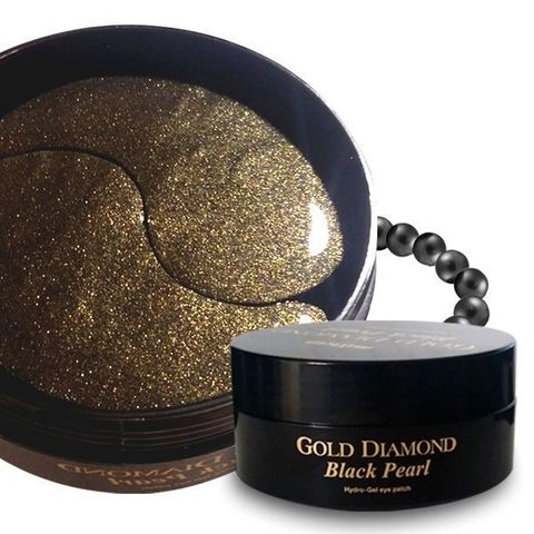 Гидрогелевые патчи Miskin Gold Diamond Black Pearl Hydro Gel Eye Patch