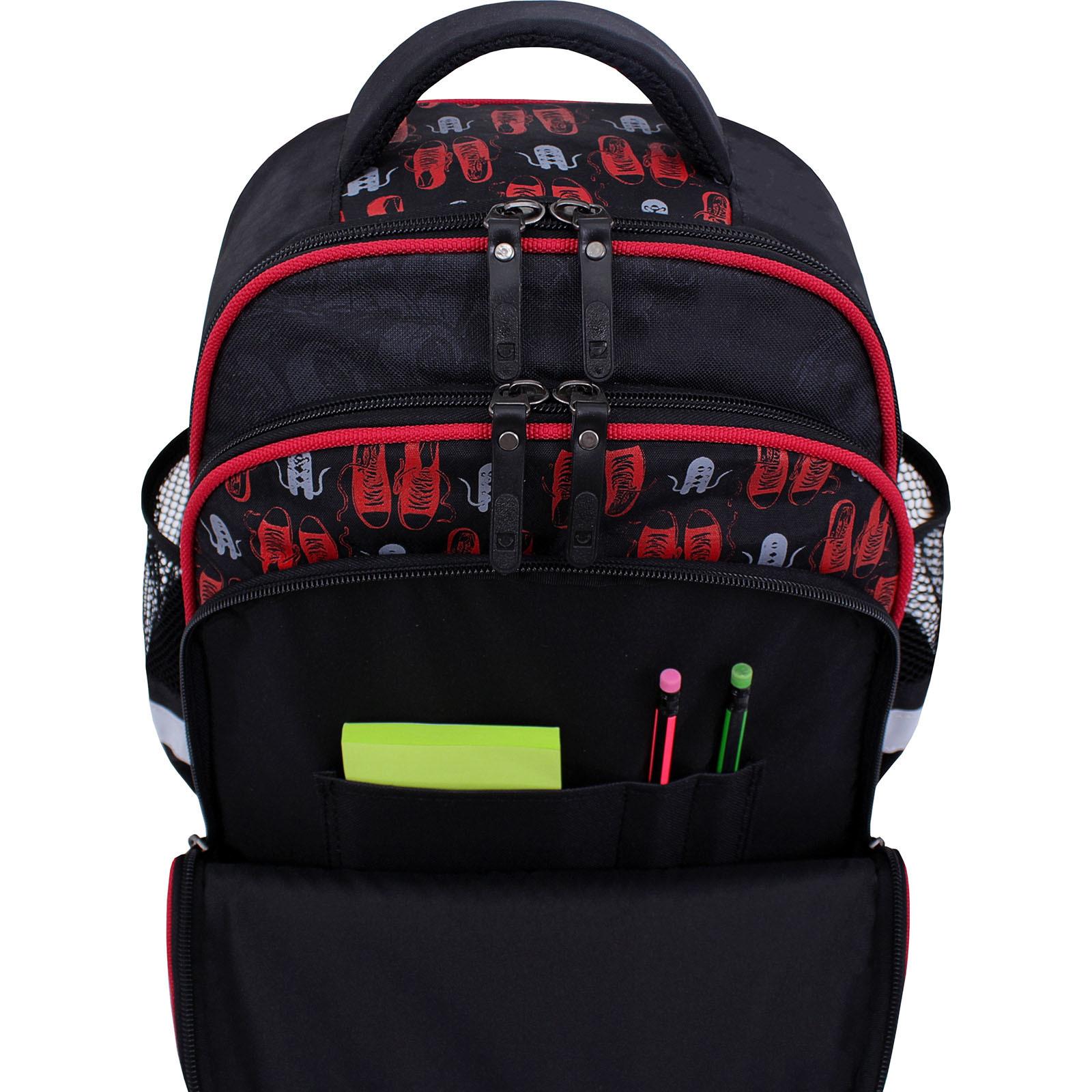 Рюкзак школьный Bagland Mouse черный 609 (0051370)