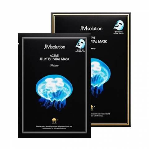 Глубоко увлажняющая тканевая маска с экстрактом медузы JM Solution Active Jellyfish Vital Mask Prime