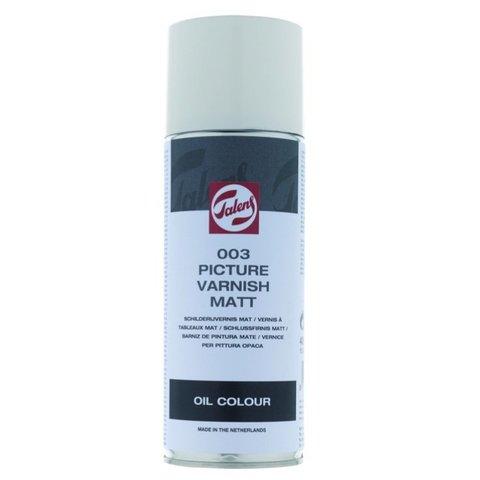 Лак покрывной МАТОВЫЙ-АЭРОЗОЛЬ № 003 для масла, 400 мл
