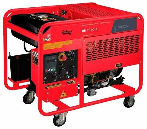 Кожух для дизельного генератора Fubag DS 11000 DA ES (8000 Вт)