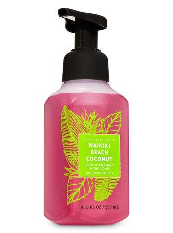 Мыло-пенка для рук  Bath&BodyWorks Waikiki Beach Coconut Gentle Foaming  Hand Soap 259 мл