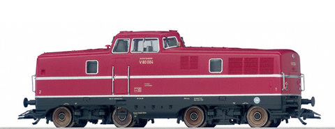 22080 TRIX Локомотив V 80 (полн. мет.,декодер,свет)