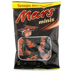 """Шоколадные батончики """"Mars"""" minis, 182г"""