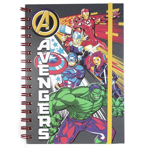 Записная книжка Marvel (Avengers Burst) A5 Wiro