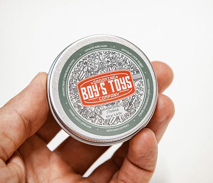 CARE179 Глина для укладки волос Boy's Toys «ИНВИЗИБЛ» (40 гр) фото 04